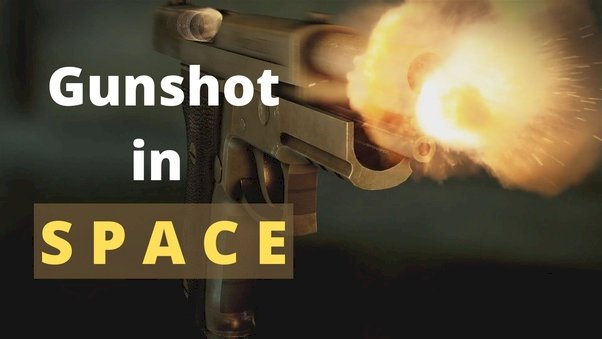 Is It Possible To Shoot In Space?